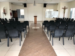 Interior del Salón san Alfonso